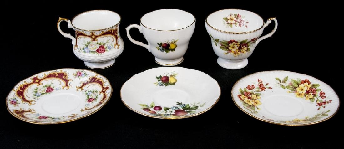 Lot Of Assorted Tea Cups and Saucers