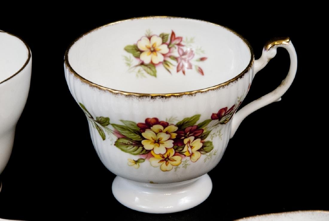 Lot Of Assorted Tea Cups and Saucers - 9