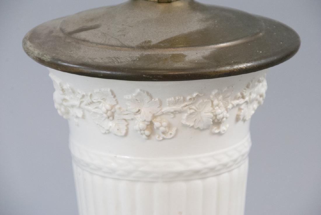Two Vintage Porcelain Wedgwood Table Lamps - 7