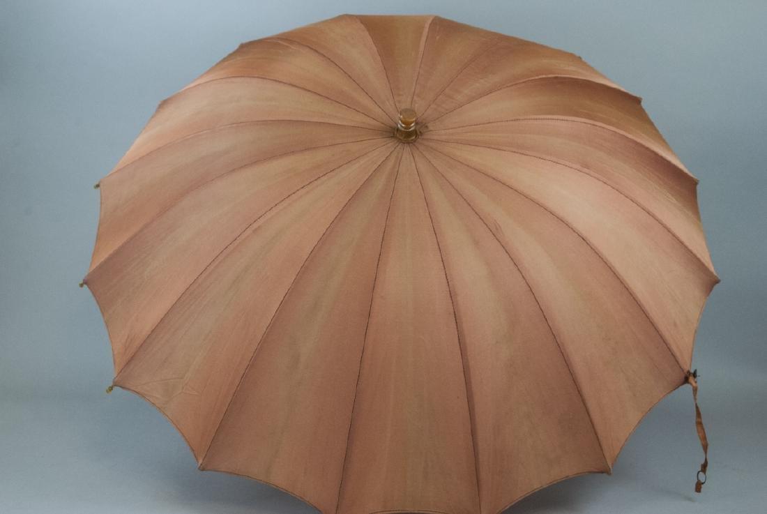 Vintage Parasol Umbrella & Rag Doll - 5