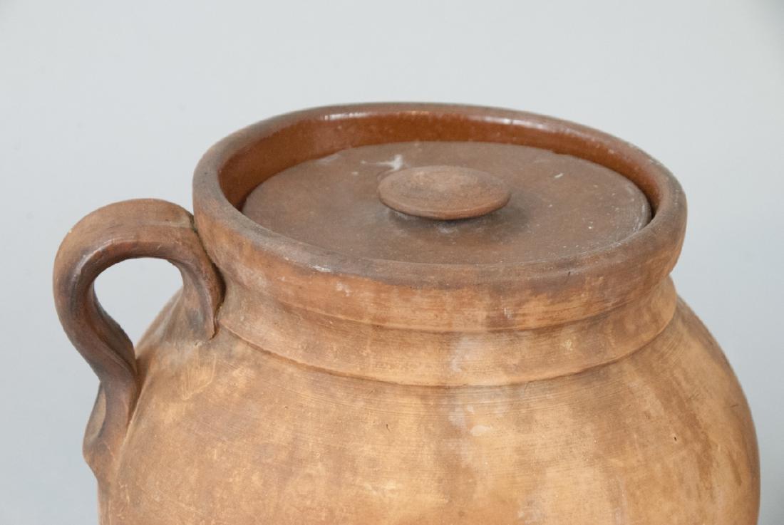 Two Vintage Stoneware Water Vases - 2