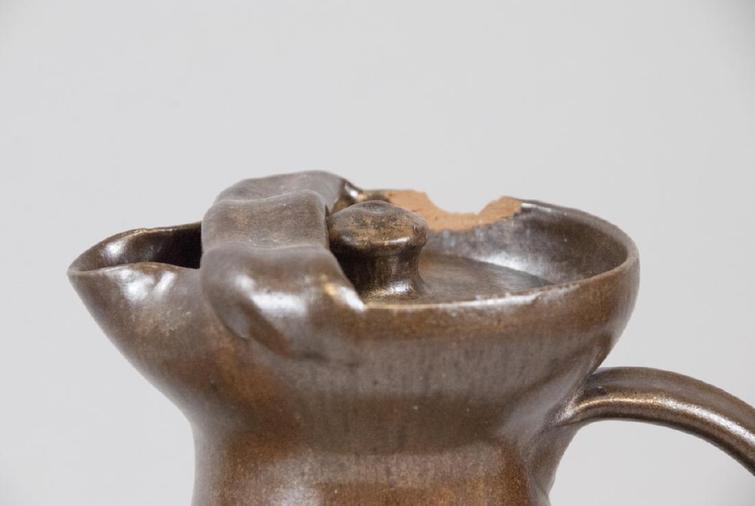 Two Vintage Stoneware Water Vases - 3