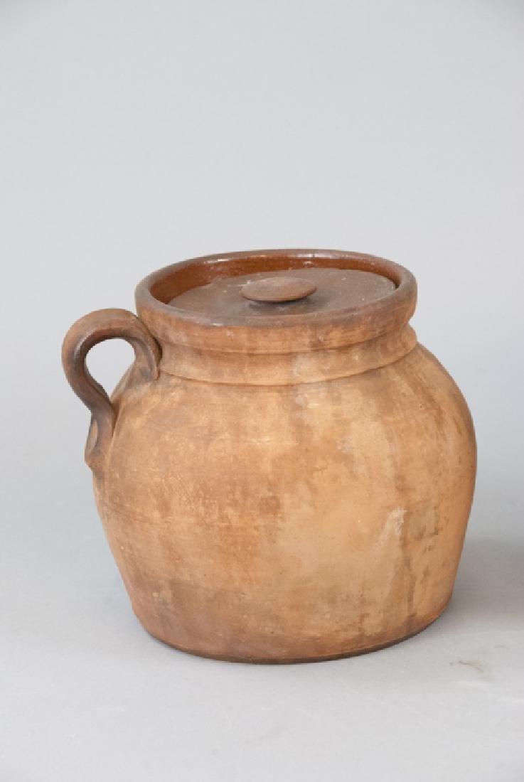 Two Vintage Stoneware Water Vases - 4