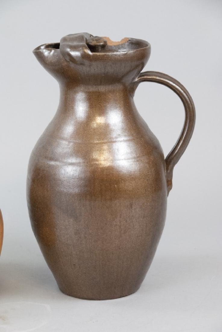 Two Vintage Stoneware Water Vases - 5