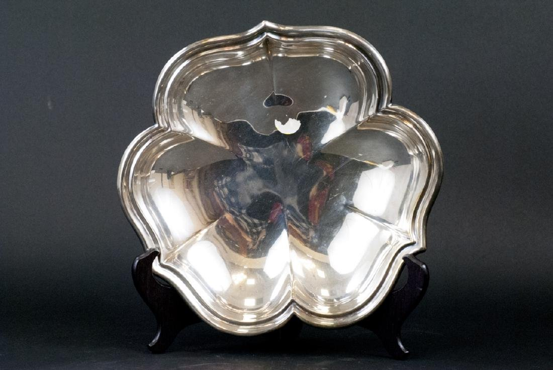 Lot Of  Assorted Vintage Silver Tray and Dishes - 9