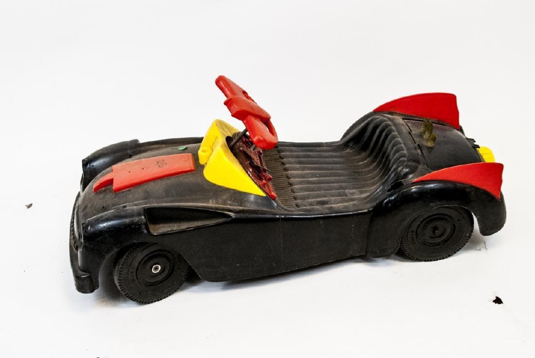 Vintage Plastic Toy Car Batman's Bat Mobile - 2