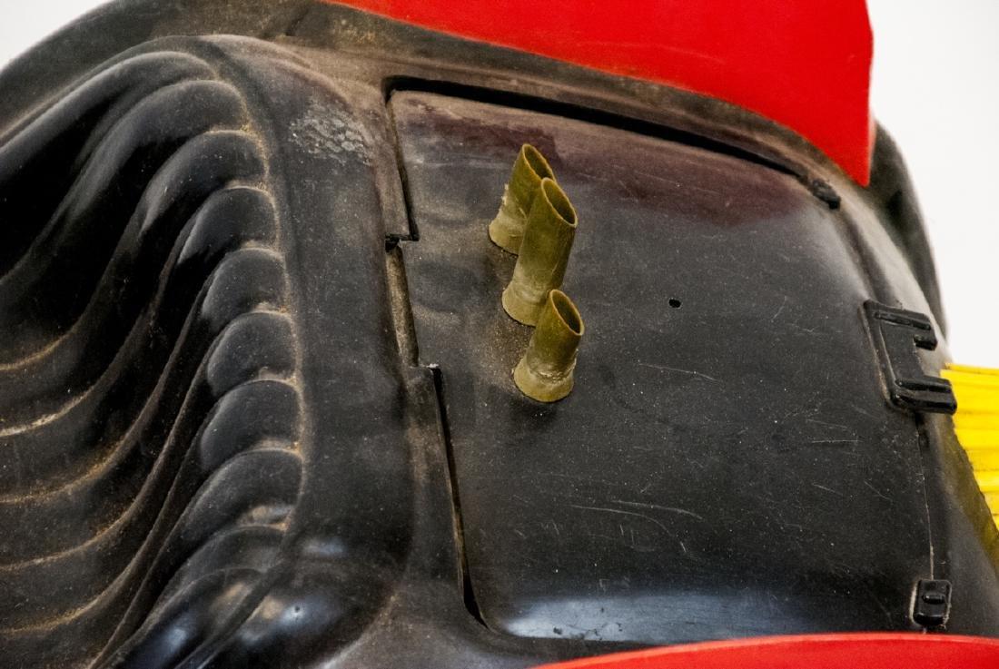 Vintage Plastic Toy Car Batman's Bat Mobile - 6