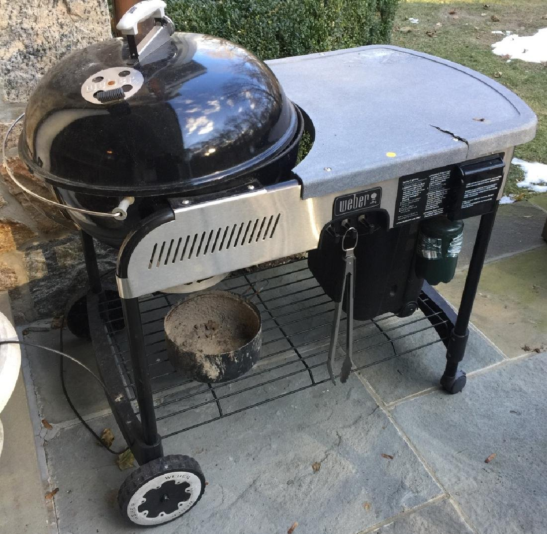 Weber Grill w Cooking Prep Surface