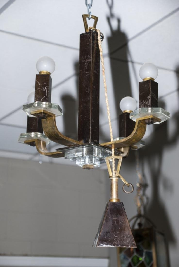 Modern Gothic Style 4 Light Chandelier - 3