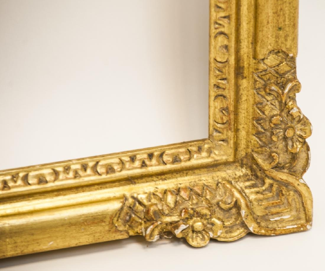 Two Rectangle Gilt Wood Frames - Classic & Fancy - 2