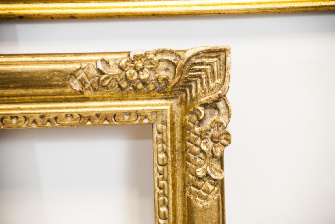 Two Rectangle Gilt Wood Frames - Classic & Fancy - 3