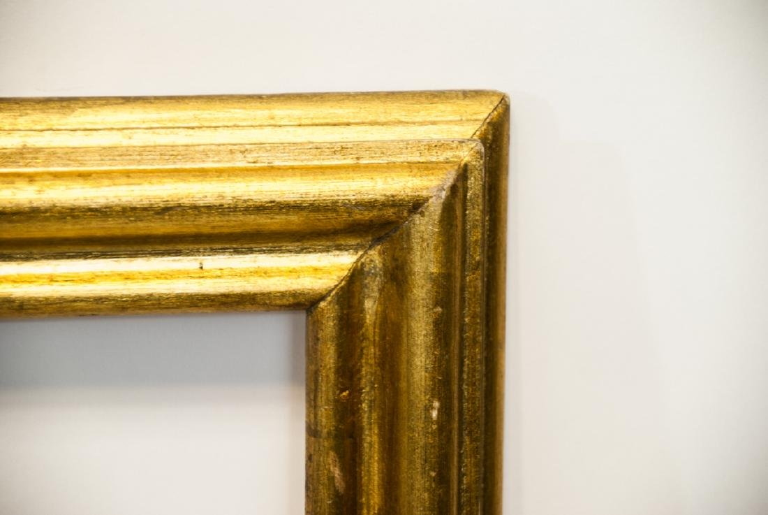 Two Rectangle Gilt Wood Frames - Classic & Fancy - 4