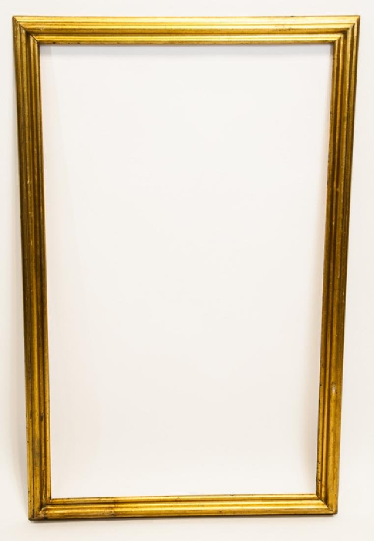 Two Rectangle Gilt Wood Frames - Classic & Fancy - 5