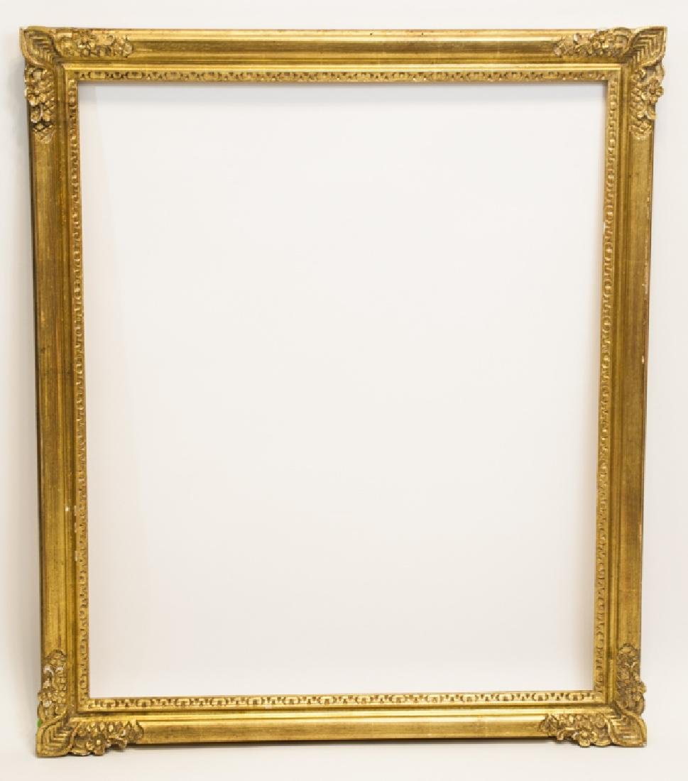 Two Rectangle Gilt Wood Frames - Classic & Fancy - 6
