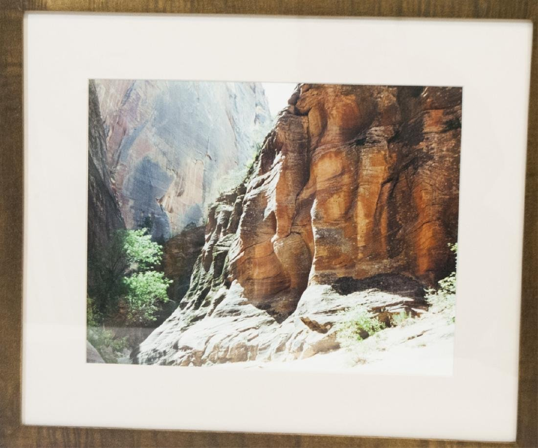 Pair Framed Southwest/Grand Canyon Photographs - 2