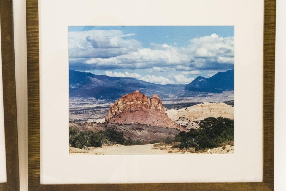 Pair Framed Southwest/Grand Canyon Photographs - 3
