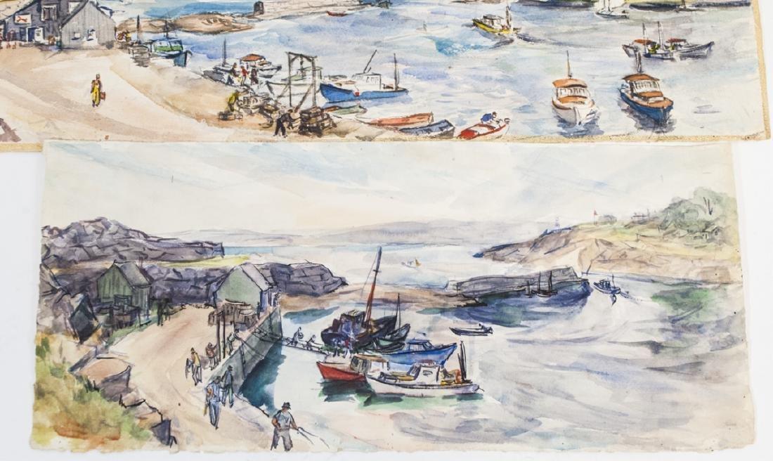 3 Oblong Orig Watercolors by Grace Huntley Pugh - 4