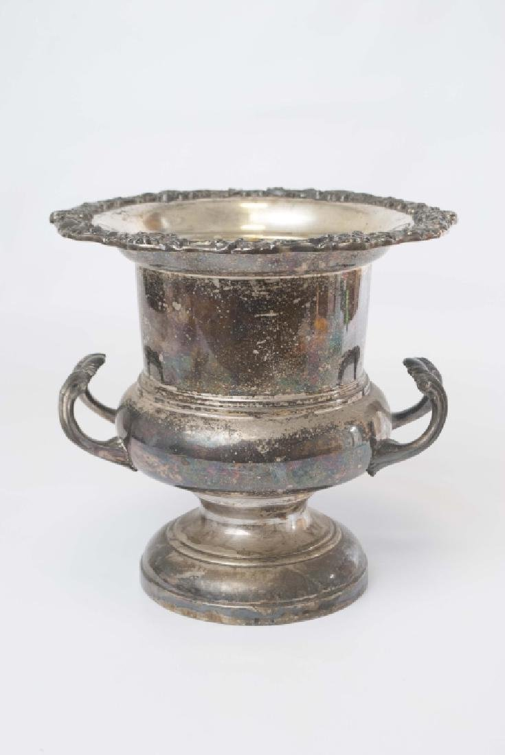 Classic Silver Plate Wine or Champagne Cooler Urn