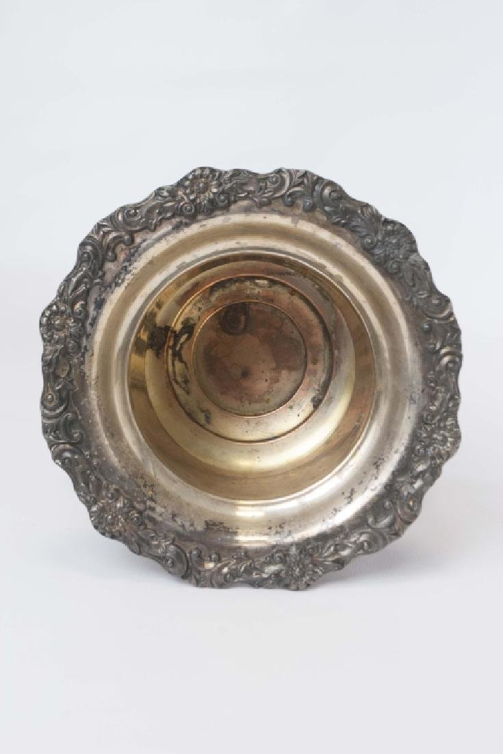 Classic Silver Plate Wine or Champagne Cooler Urn - 2
