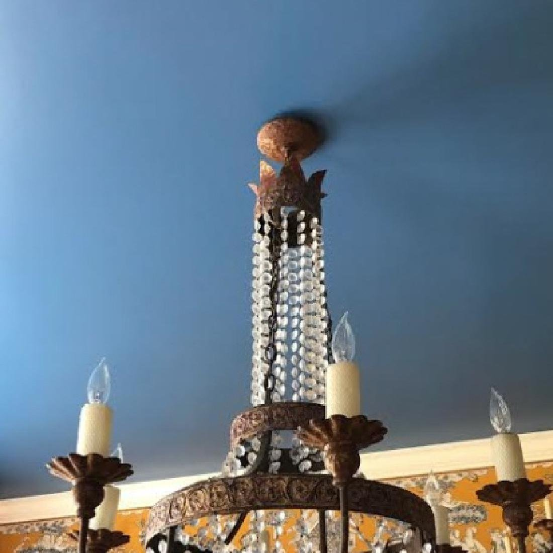 French Neo Classical Style Crystal Chandelier - 2