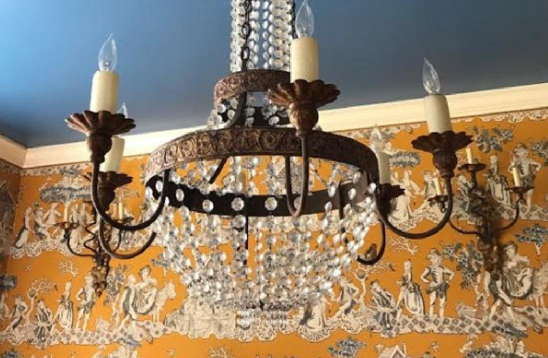 French Neo Classical Style Crystal Chandelier - 3