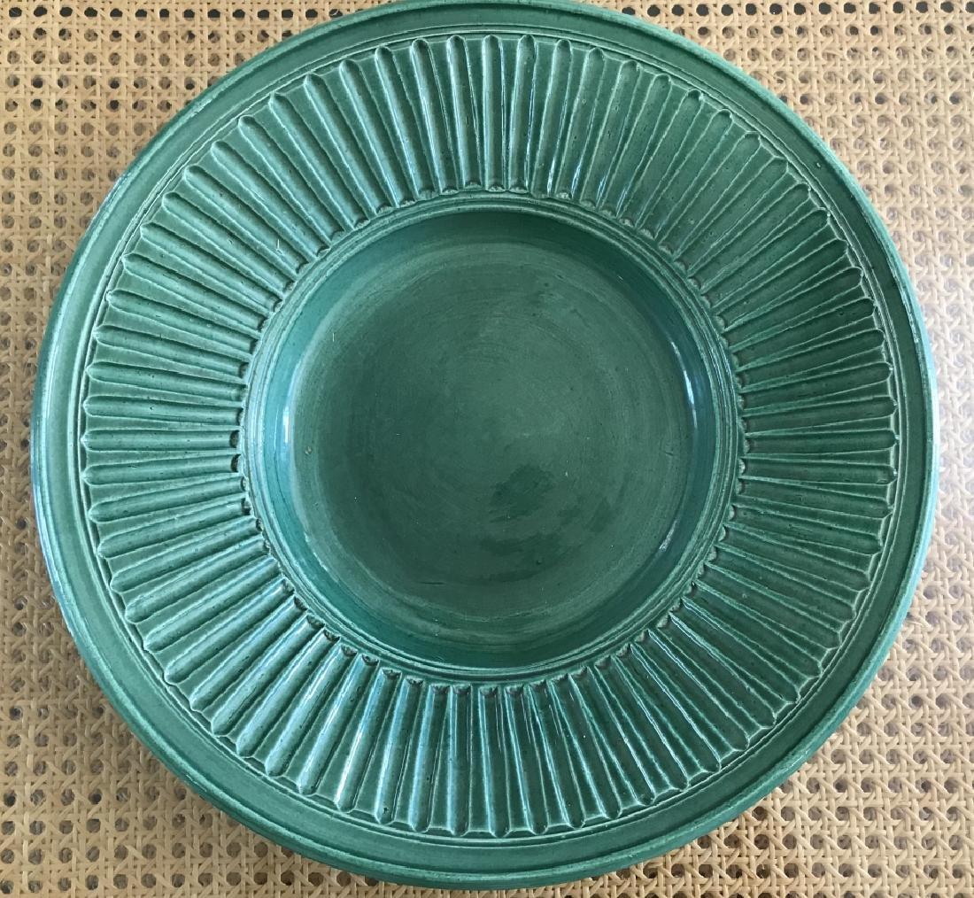 Contemporary Art Pottery Bowl Signed Dire