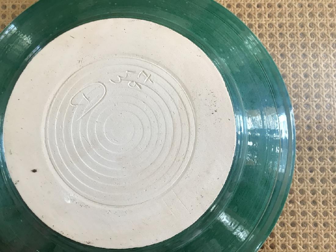 Contemporary Art Pottery Bowl Signed Dire - 2