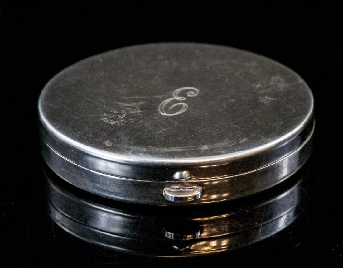 Vintage Tiffany & Co Silver Compact Case