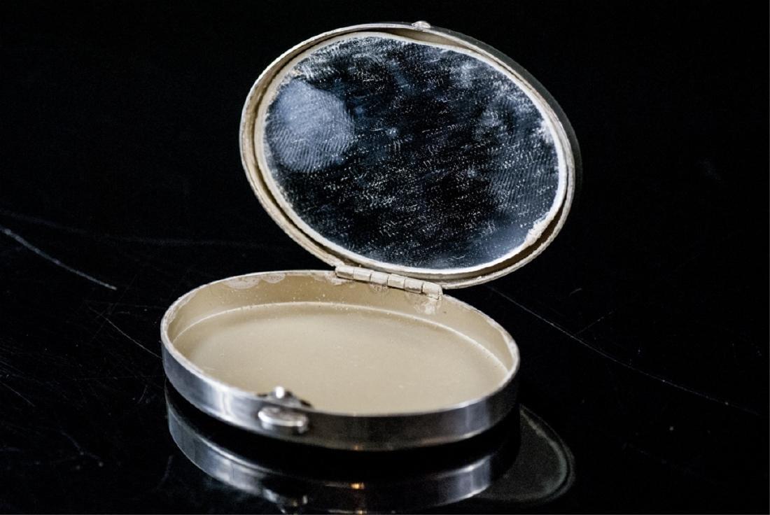 Vintage Tiffany & Co Silver Compact Case - 3
