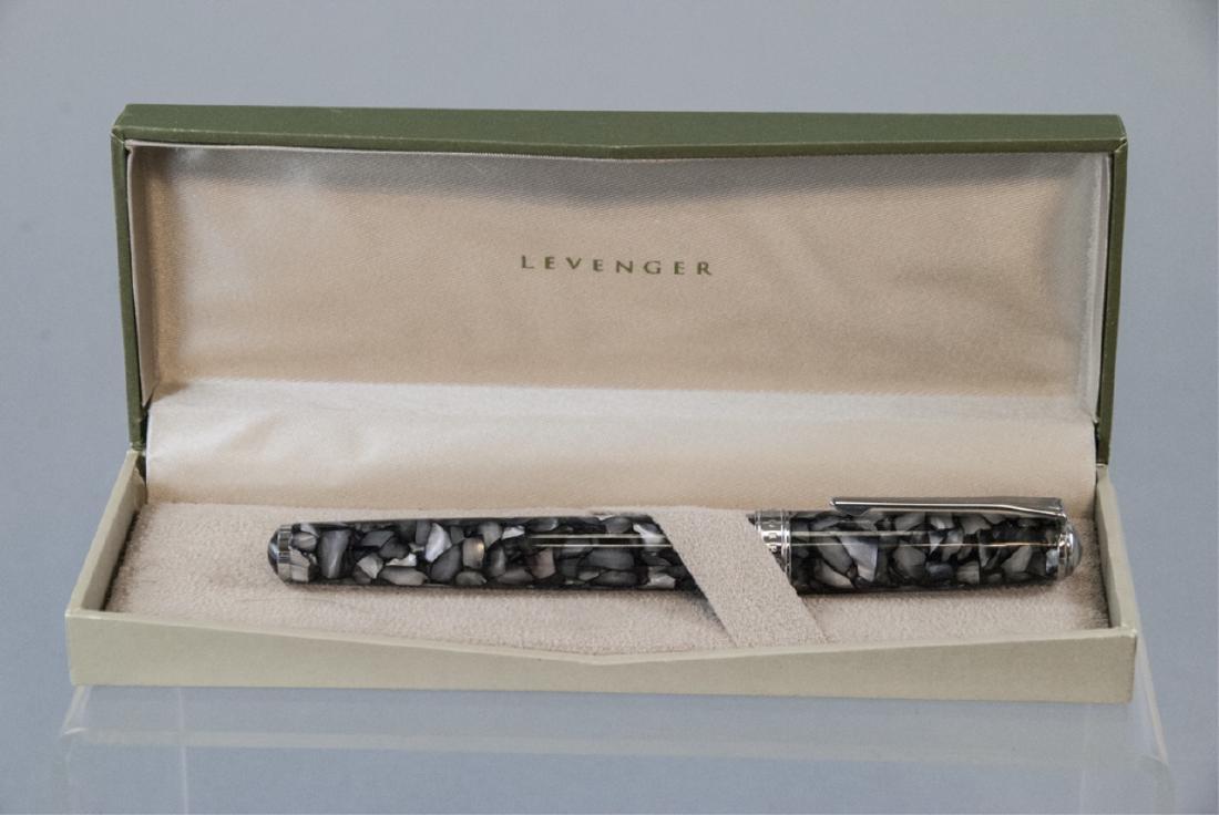 Levenger Pen w Original Box & Paperwork - 4