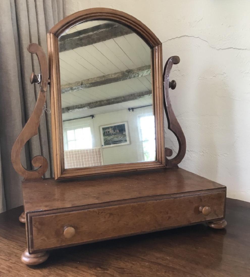 Antique Vanity Mirror / Shaving Stand