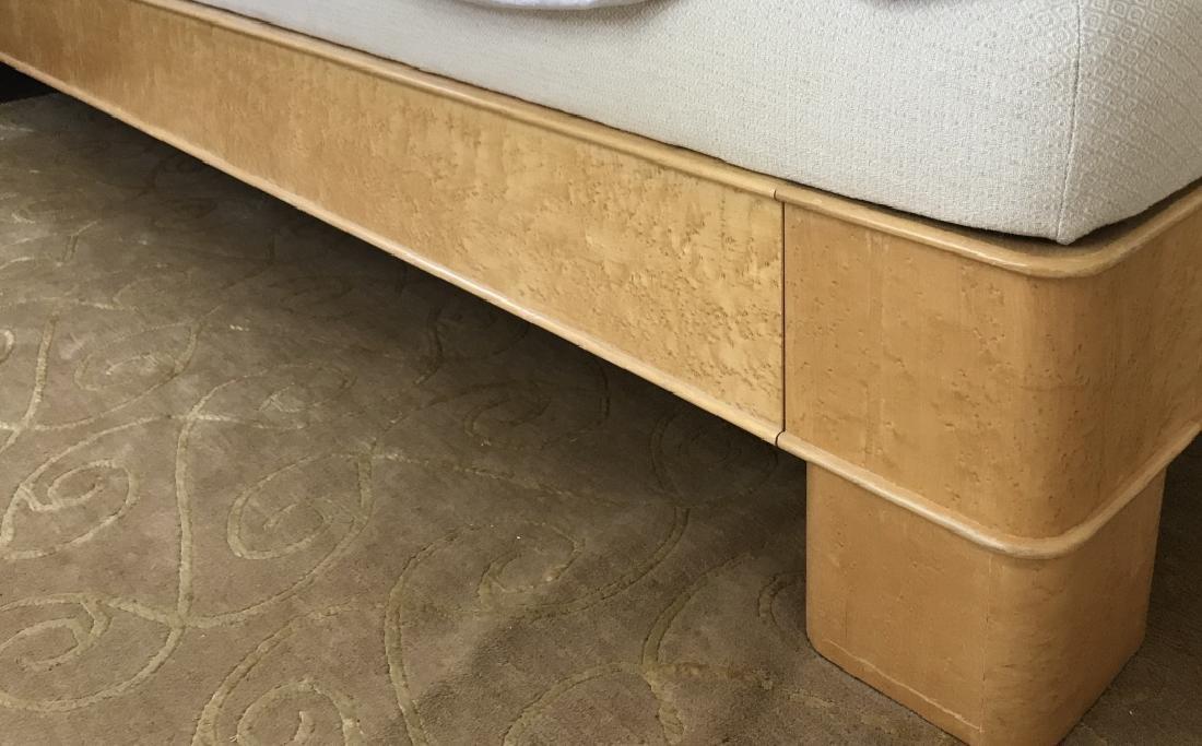 Custom King Size Upholstered Headboard & Bedframe - 4