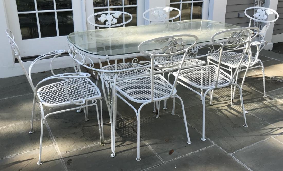 Garden / Outdoor Mid Century Dining Room Set
