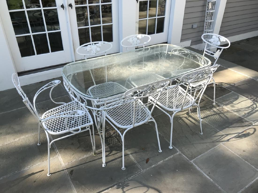 Garden / Outdoor Mid Century Dining Room Set - 2