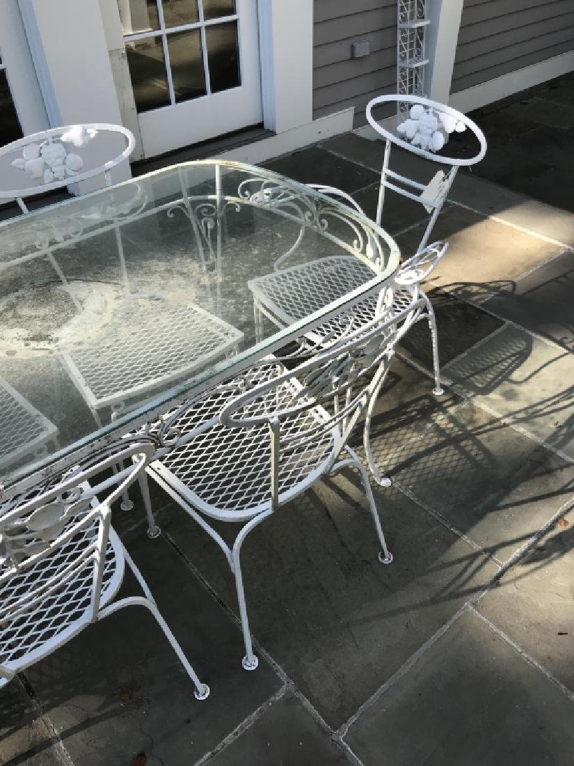 Garden / Outdoor Mid Century Dining Room Set - 4