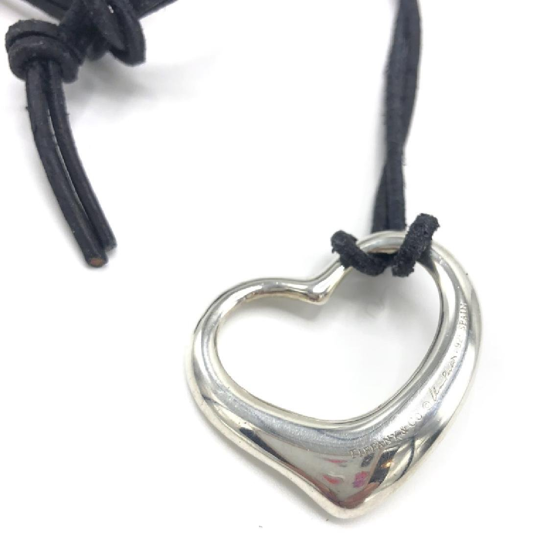 Authentic Tiffany Sterling Silver Heart Necklace