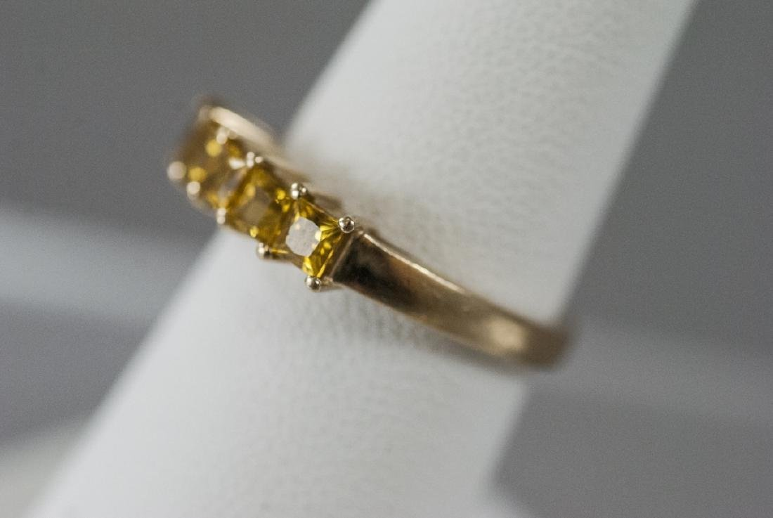 Estate 14kt Yellow Gold Band / Ring - 2