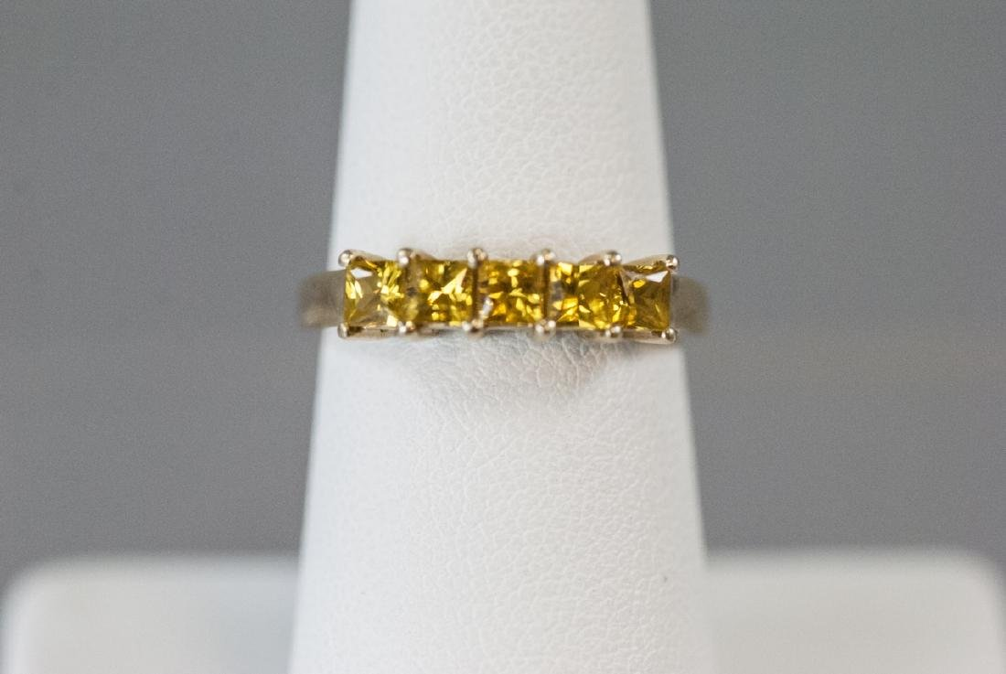 Estate 14kt Yellow Gold Band / Ring - 4