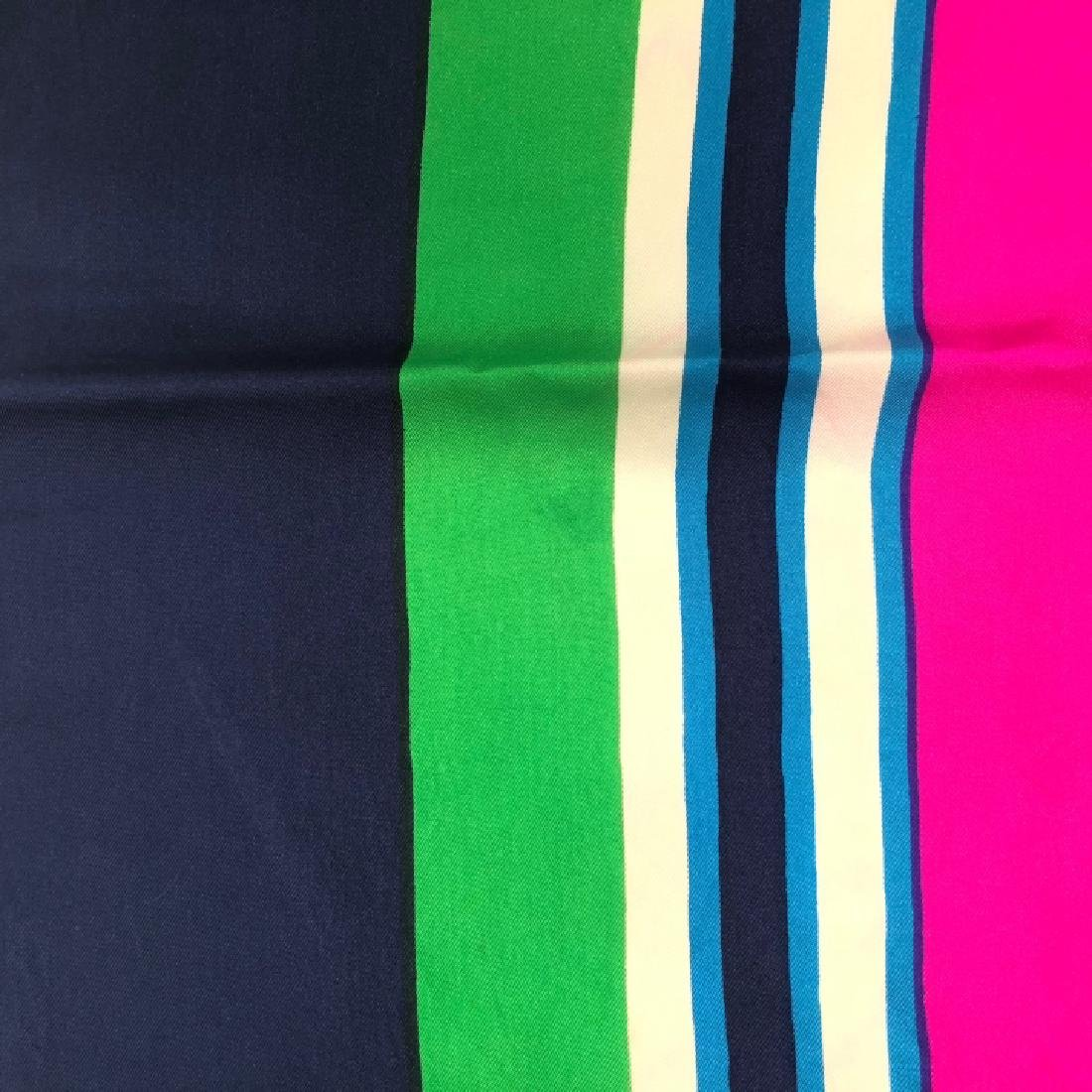 Vintage YSL Yves Saint Laurent Silk Scarf - 4