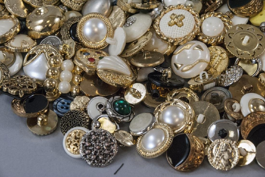 Large Collection of Vintage Clothing Buttons - 5