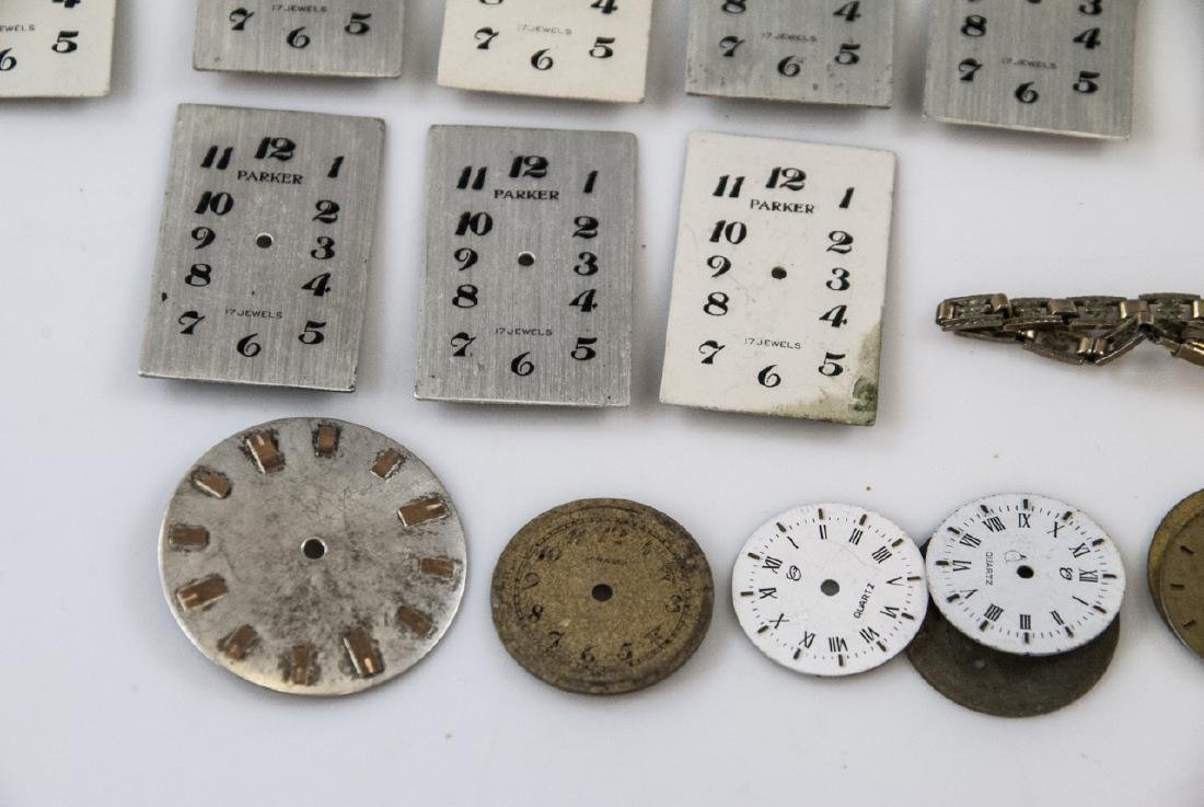 Collection of Antique Watches Faces, Cases & Parts - 6