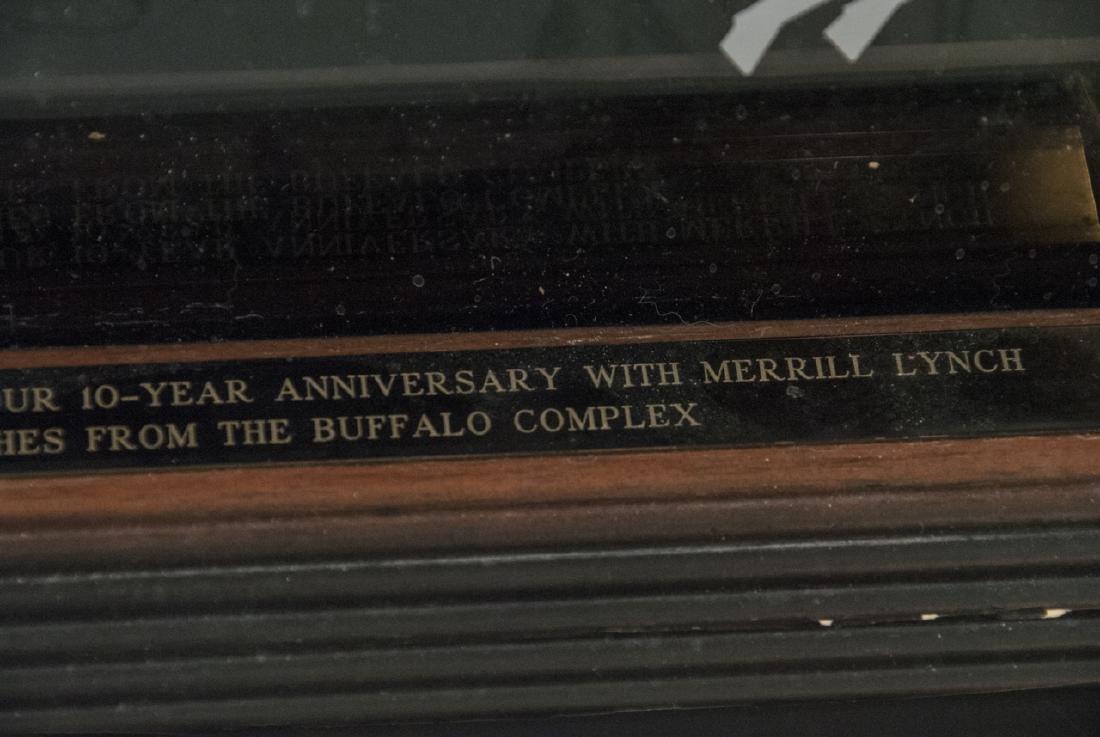 Buffalo Bills Signed NFL Football 1994 - 10