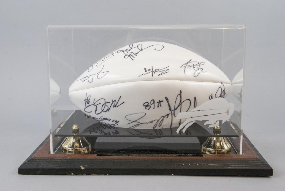 Buffalo Bills Signed NFL Football 1994