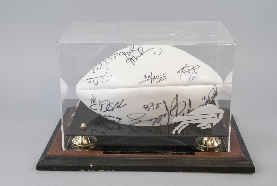 Buffalo Bills Signed NFL Football 1994 - 3
