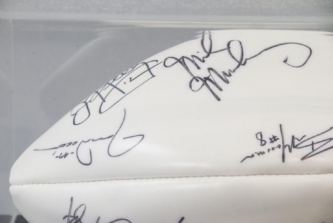 Buffalo Bills Signed NFL Football 1994 - 4