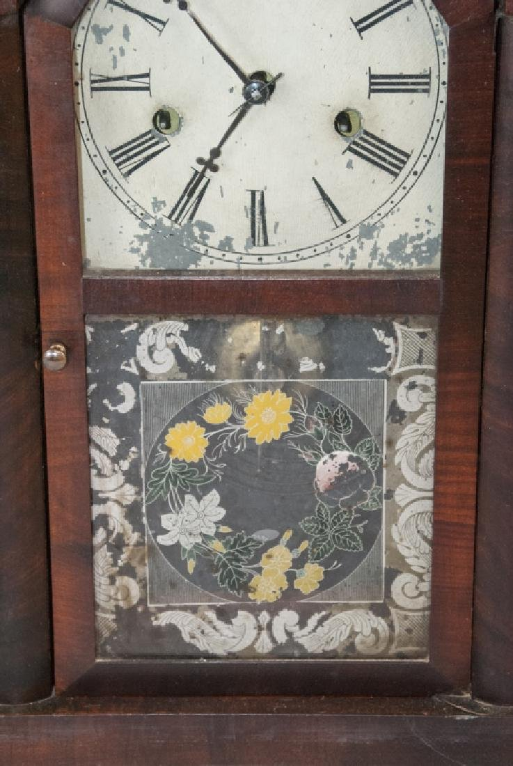 Antique Steeple Mantel Clock by E.N. Welch - 6
