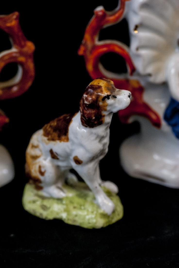Antique Paris Porcelain Vase, Figurines, Boxes - 4