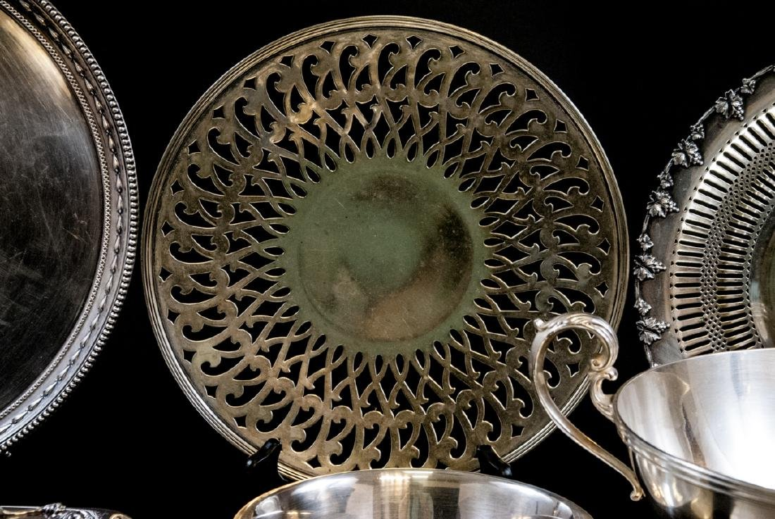 Assorted Contemporary Silver Plate Serving Pieces - 7