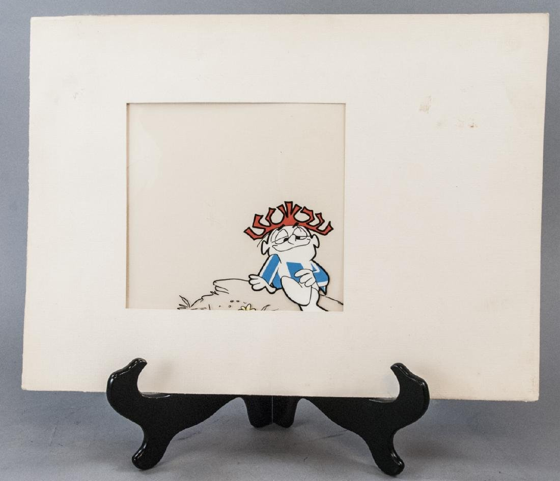 Vintage Original Artwork Cartoon Animation Cel