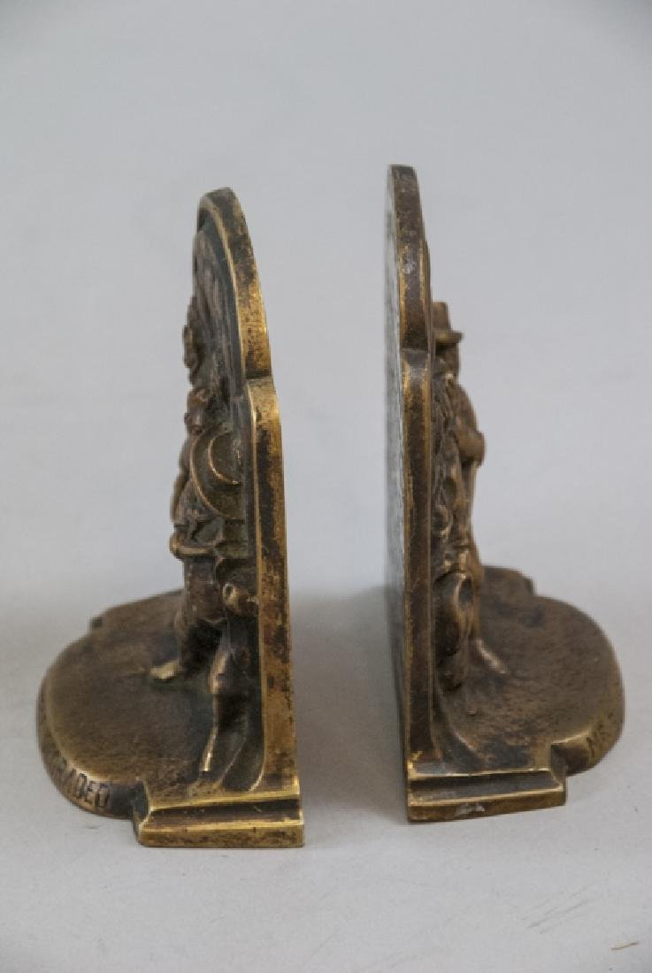 Two Pairs of Bookends - Egyptian & Mr. Bumble - 10